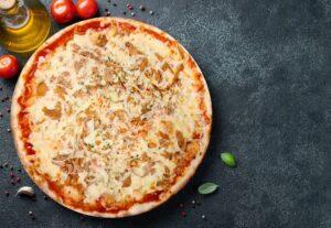 Pizza Tonno - Pizzeria Don Carlo Calella