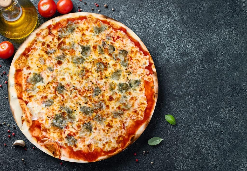 Pizza Roquefort - Pizzeria Don Carlo Calella