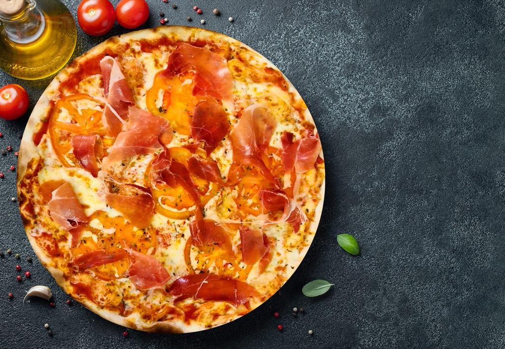 Pizza Serrano - Pizzeria Don Carlo Calella