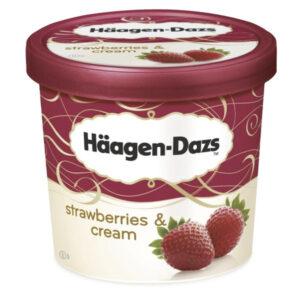 Häagen-Dazs Strawberries Cream